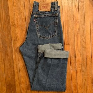 "Vintage Levi's 560 High Waisted ""Mom"" Jeans"